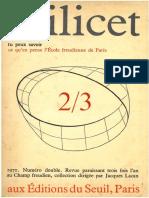 Scilicet Livro 2-3