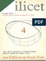 Scilicet Livro 4