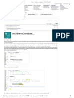 Java - Crear un programa _Control Escolar_