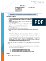 PRACTICA 1 Seguridad Industrial e Higiene