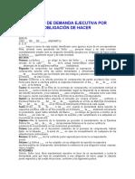 MODELO DE DEMANDA EJECUTIVA POR OBLIGACIÓN DE HACER.docx