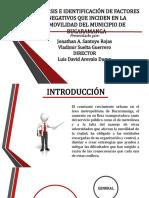 TALLER 1, FACTORES NEGATIVOS DE LA MOVILIDAD.pptx