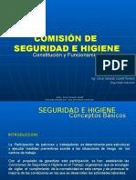 COMISIÓN DE SEGURIDA E HIGIENE