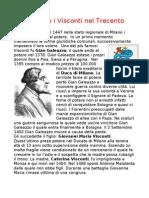 Milano e i Visconti Nel Trecento