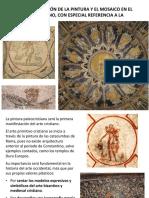 pintura y mosaico paleocristiano