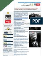 Peugeot 308 automático _ Peugeot 308 automático - Modificado AL4 caja de cambios automática