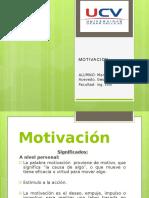motivacion UCV