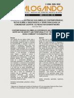 Vivências e resistências quilombolas