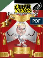 Culán News 01 - 25 años pedro - 2015