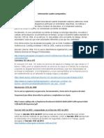 Información normatividad de cuadro comparativo