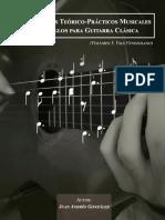 Fundamentos Teórico-Practicos Musicales en Arreglos para Guitarra Clásica (Volumen I Vals Venezolano)