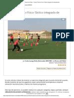 La Técnica del Fútbol - Circuito Técnico-Físico-Táctico integrado de calentamiento_ pdf