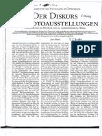 Weibel - DER DISKURS DER FOTOA
