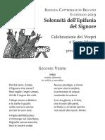 Celebrazione epifania - libretto