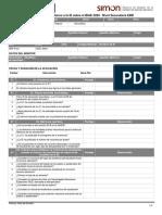 Ficha de Monitoreo a la IE sobre el BIAE 2020 Nivel Secundaria EBR
