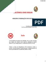 1 - Origem e formação dos solos.pdf