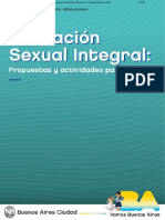 Material Educación Sexual Integral 2018