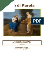 Sete di Parola - III settimana di Quaresima - Anno A.doc