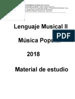 Material de estudio y apuntes, Lenguaje II 2018