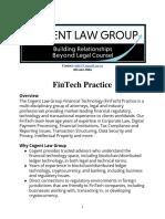 Cogent FinTech Practice