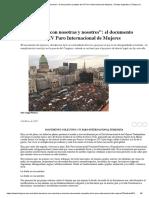 _La deuda es con nosotras y nosotres__ el documento completo del IV Paro Internacional de Mujeres _ Tiempo Argentino _ Tiempo Argentino