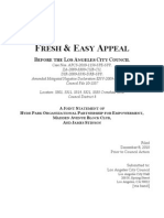 Fresh & Easy City Council Appeal
