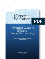 Corporate Education - A Practical Guide to Effective Corporate Learning - Chapter 1
