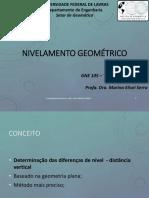 GNE105 3-Nivelamento Geometrico
