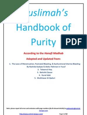 Muslimah's Handbook of Purity | Menstruation | Childbirth