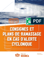 Plan de Ramassage Alerte Cyclonique Nouméa
