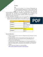 ACTIVIADES A DSARROLLAR - matriz