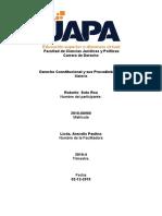 Derecho Constitucional y sus Procedimientos - Roberto - 5ta SEMANA.docx