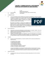Proyecto curricular de evaluación de la ortografía