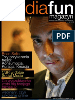 Brian Solis on the cover of mediafun magazyn nr 02 2010