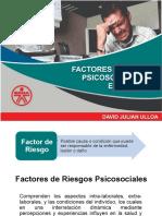 FACTORES DE RIESGOS PSICOSOCIALES