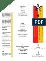 Brochure of the Workshop on Shakti