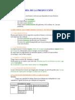 Economia Tema 2 - Concepto de la producción