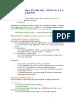 Economia Tema 2 - Teoría de la Demanda y el Consumo de Bienes
