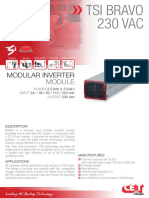 CET Power - BRAVO 230Vac datasheet - v1.4