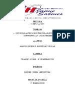 Analisis de Que son las Tecnologias de la Informacion.docx