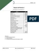 Repaso de finanzas I para la segunda practica - 2018 II
