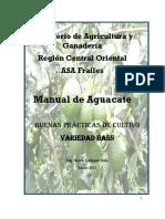 Ministerio de Agricultura y Ganadería Región Central Oriental ASA Frailes Manual de Aguacate.pdf