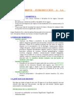 Semiotica Tema 1 - Breve introducción a la semiótica