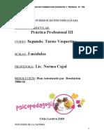 2020- Proyecto Práctica Psicopedagógica III.odt