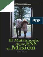 El matrimonio de los ENS en Mision