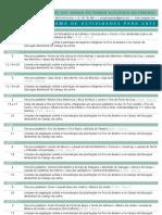AAPEF - Programa de Actividades 2011