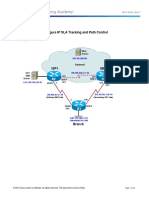 CCNPv7 ROUTE Lab5-2 IP SLA Tracking and Path Control Student Alexis Pedroza