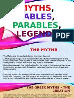 Myths,Fables,Parables,Legends