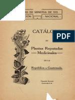 Rafael Tejada- Catalogo de plantas reputadas medicinales Guatemala.pdf