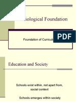 sociological-foundation